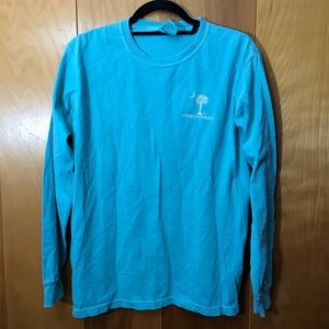 Comfort Colors | Charleston Blue Long Sleeve Sz S